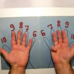 طريقه مذهله لتعلم جدول الضرب بالاصابع