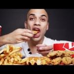 اقوى اصوات اكل تسمعه شرائح دجاج مقرمشة + بطاطس من ديري كوين Dairy Queen Chicken Tenders, Fries ASMR