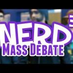 The Nerd³ Mass Debate – 9th September 2015