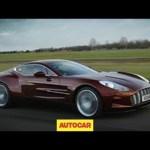 Aston Martin One-77 exclusive video