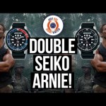 DOUBLE SEIKO ARNIE! SNJ27 + SNJ25 Review