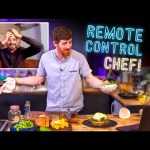"""CHEF is """"REMOTE CONTROLLED"""" by a NORMAL!! 