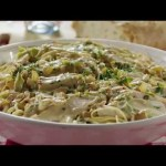 How to Make Creamy Chicken on Linguine | Chicken Recipes | Allrecipes.com
