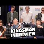 Kingsman 2 Cast Spills Secrets – LIVE in Studio (SDCC 2017)