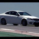 Mercedes Benz C63 AMG Coupe video review