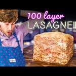 Mystery Box Challenge | Making a 100 Layer Lasagne!!