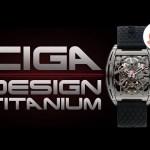 Stronger…. Lighter…. Ciga Design Z Series Titanium!