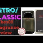 Retro: Play Intense for Men by Givenchy Fragrance Review (2008)