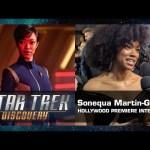 Sonequa Martin-Green Interview – Star Trek: Discovery Hollywood Premiere (Sept. 19, 2017)