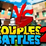 ARE GIRLS BETTER AT PVP?! in Minecraft Bed Wars