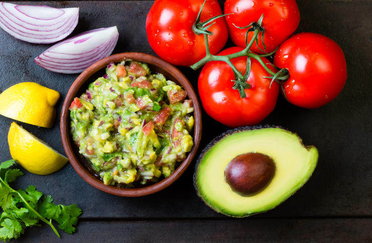 Grilled Guacamole - Essential gluten-free Picnic recipes