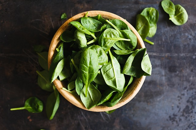 Spinach - Best Foods for Acid Reflux