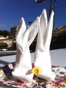 Conejitos de pascua para la mesa