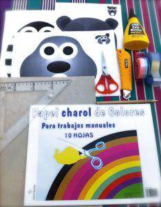 Materiales mini golfito para niños