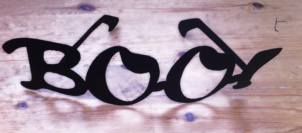 Gafas Boo – Diy Express de Halloween