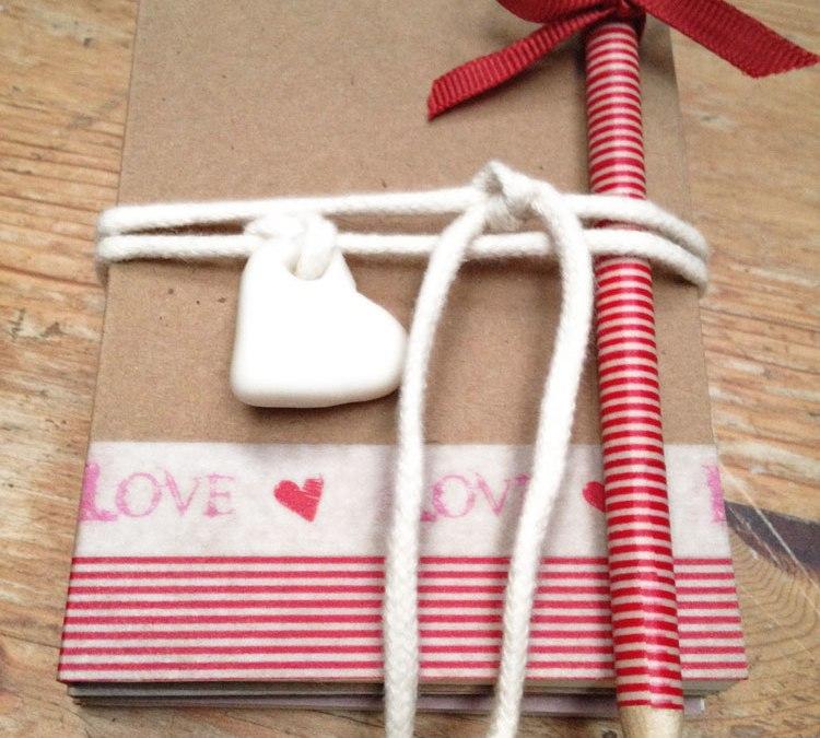 Set para escribir cartas para San Valentín