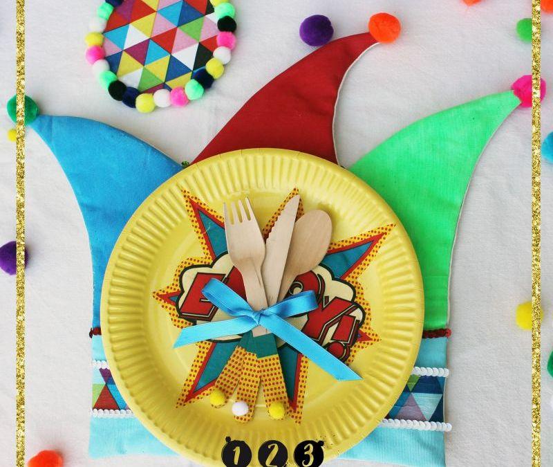 Viste tu mesa para Carnaval
