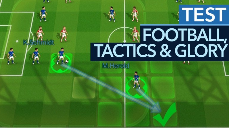 Football, Tactics & Glory - test video for the clever football tactics game