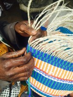 Beautiful Maasai woven baskets