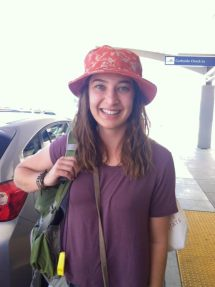 Sierra at the Sacramento Airport!