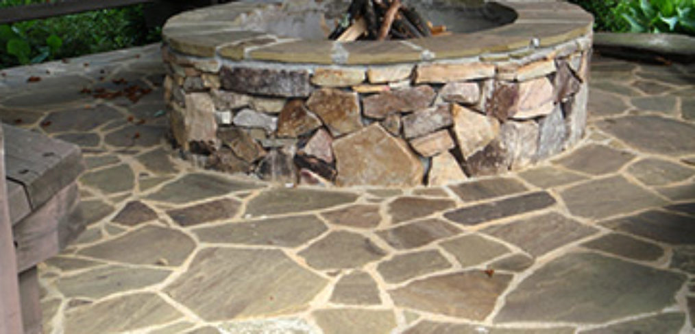 stone fire pit cost in asheville