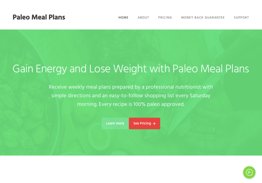Digital product ideas you can sell: Meal Plans