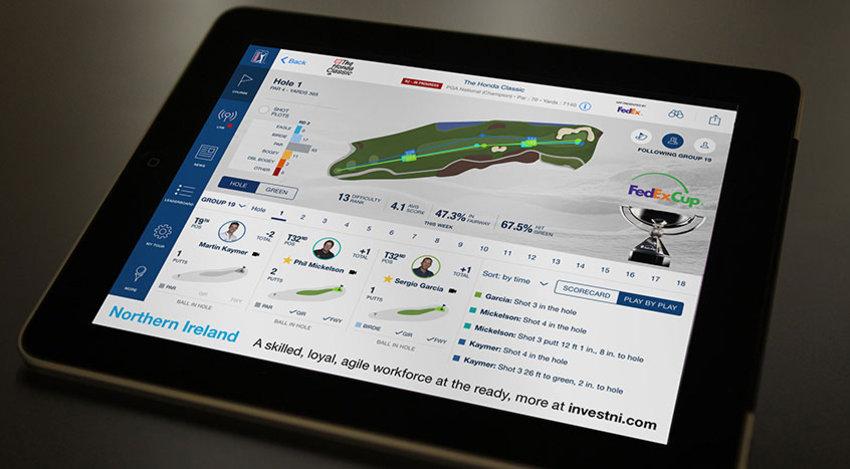 The new PGA Tour iPad App