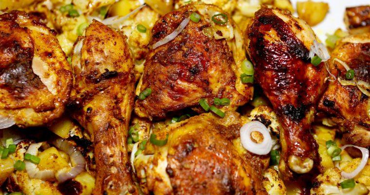 Sheet Pan Magic (Chicken Tikka)