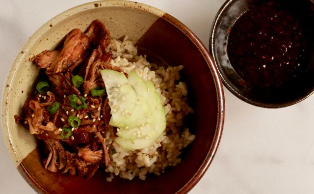 Pressure Cooker Spicy Pork Shoulder  from NYT & Melissa Clark
