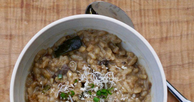 Instant Pot Adventures-Mushroom Risotto