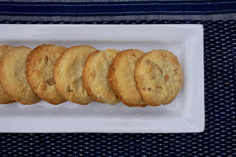 Weekend Warrior-Weekend Baker (Toasted Almond Cookies)