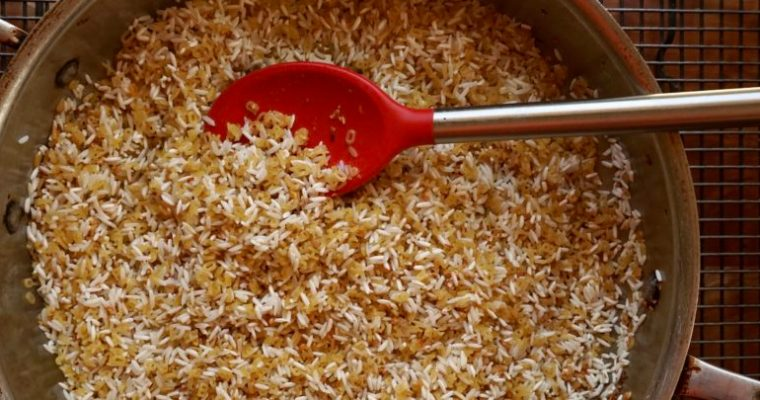 Love Letter to Rice (Garlic Rice)