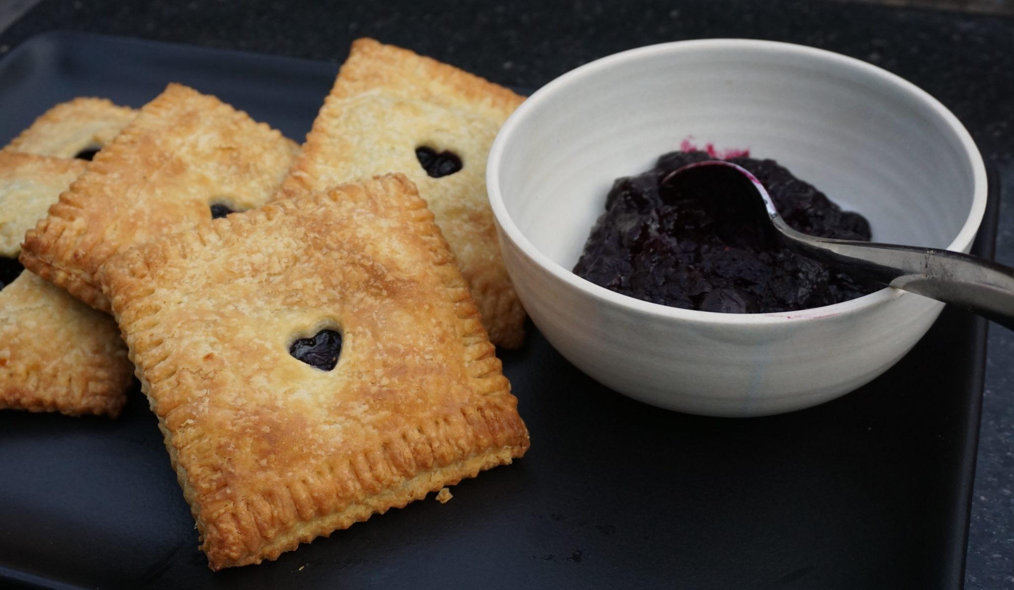 Girls Just Wanna Have Pie (Blueberry Hand Pies)
