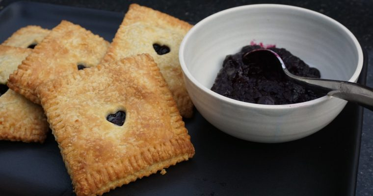 Girls Just Wanna Have Pie (Blueberry Hand Pies)