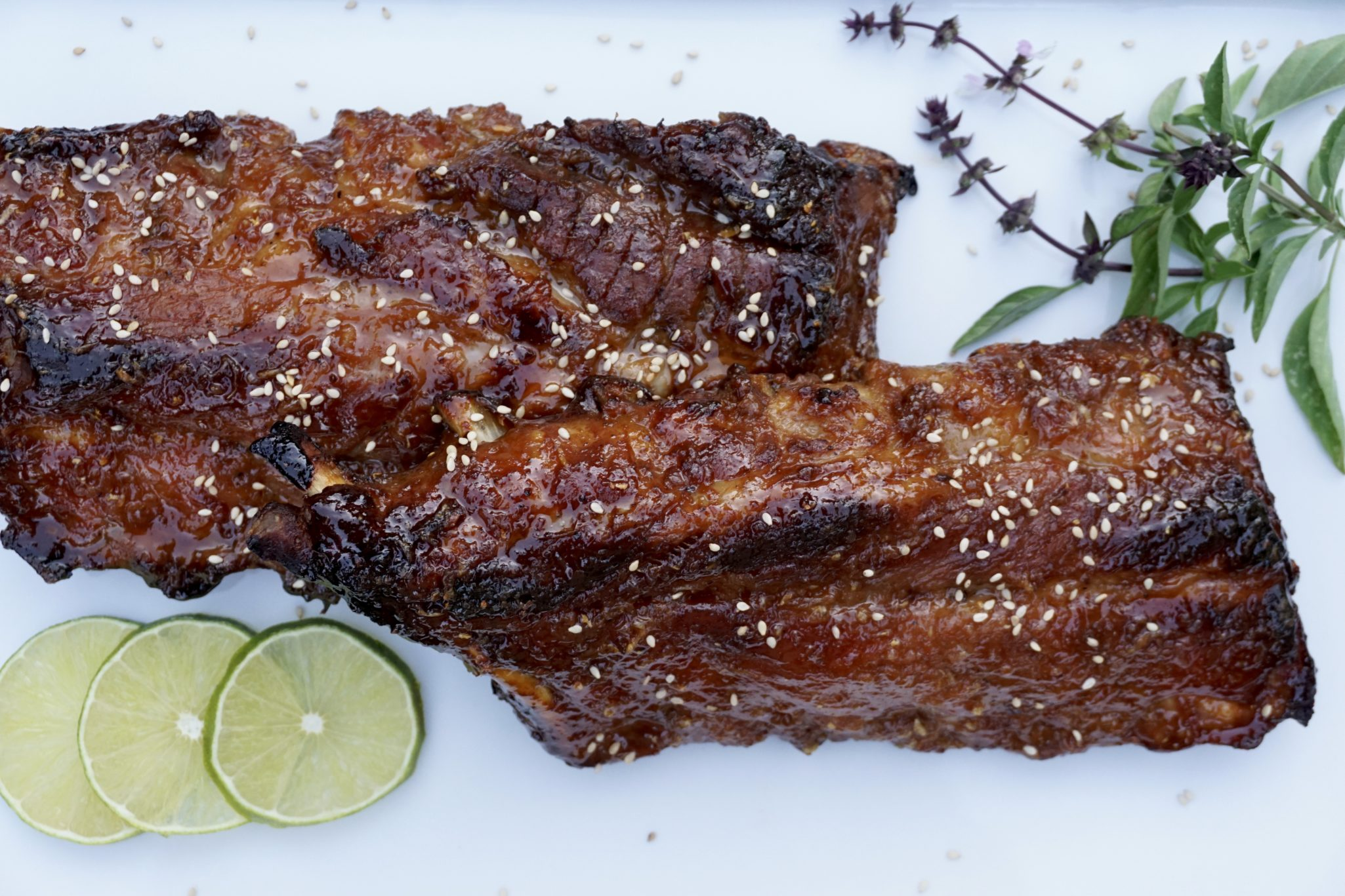 To BBQ Or Bake That Is The Question (Miso Honey Ribs)