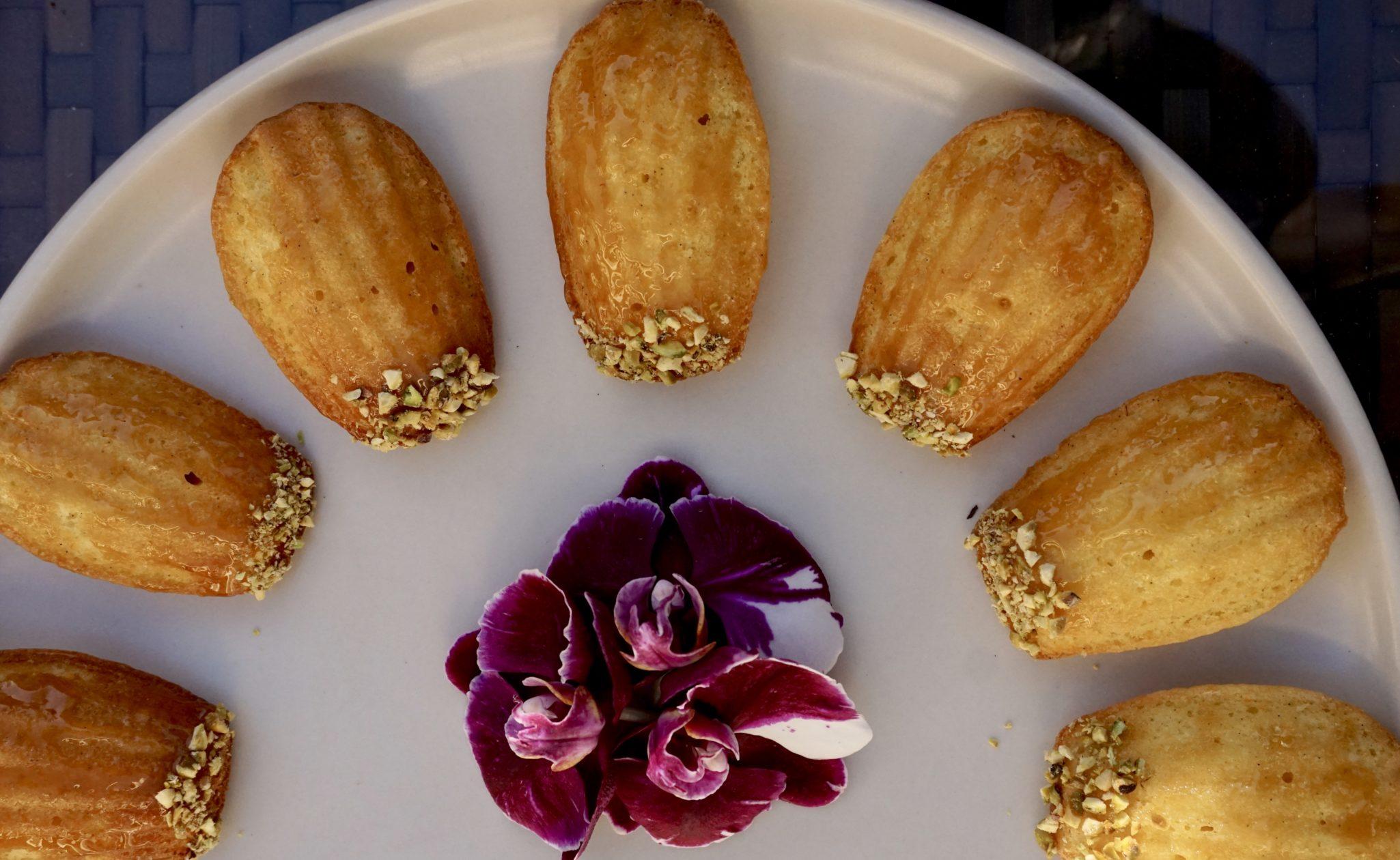 Twelve Days of Cookies Starts… NOW (Saffron, Orange and Honey Madeleines)
