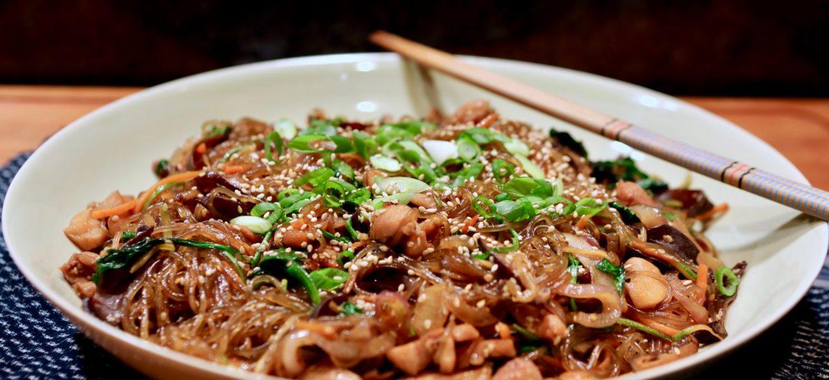 Oppa! Korean-Style, Sexy Noodles, Op Op Japchae