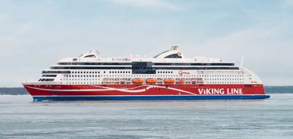 STX Finland Delivers World's Largest LNG Powered Ferry ...