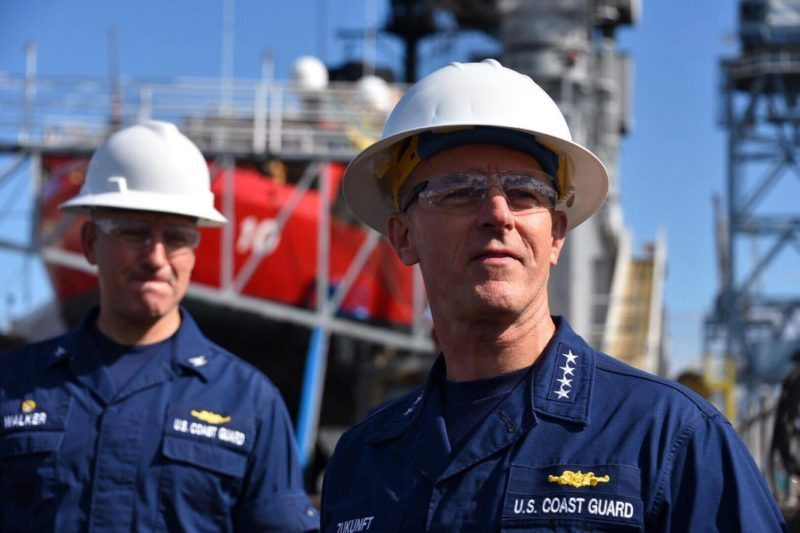 Coast Guard Commandant Adm. Paul Zukunft