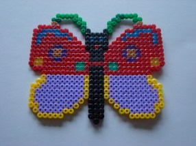 Butterfly with a necklace, by Jasmine