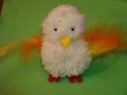 Finished Pompom Chick