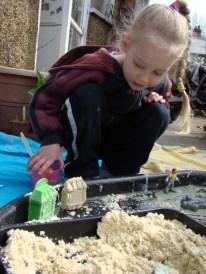 Building a sand shop