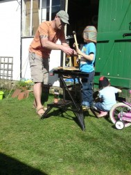 Making a nesting box 4