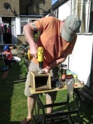 Making a nesting box 8