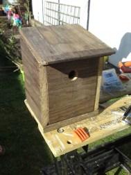 Making a nesting box 9
