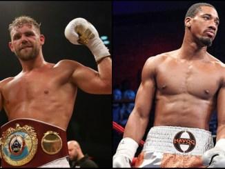 Saunders vs Andrade