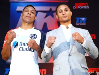 Regis Prograis and Juan Velasco