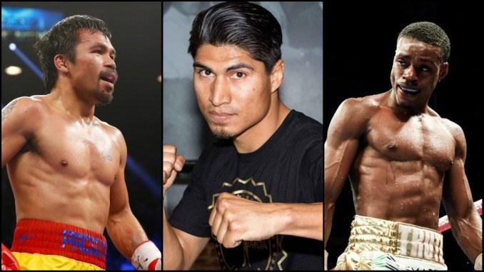Mikey Garcia, Manny Pacquiao, Errol Spence