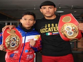 Jerwin Ancajas and Jose Uzcategui