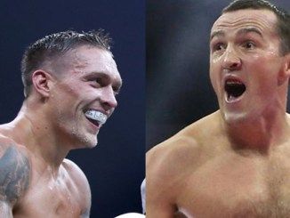 Oleksandr Usyk and Denis Lebedev